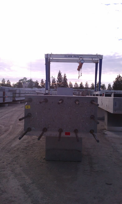 Precast reinforcing products