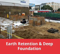 Earth Retention and Deep Foundation